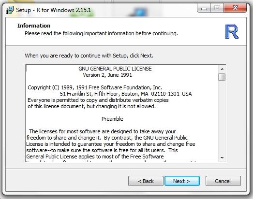 GNU Public License